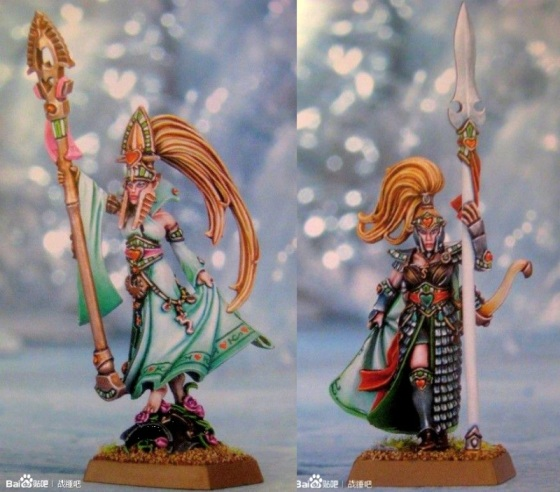 Alariel and Maiden Guard -- I know some folks will be thrilled about these. Looks Finecast tho...