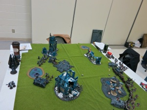 Game 1 vs. Luke Church