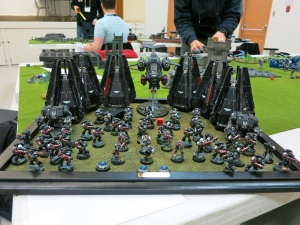 Another sweet Raven Guard army! Davey Greenley I think was the name...