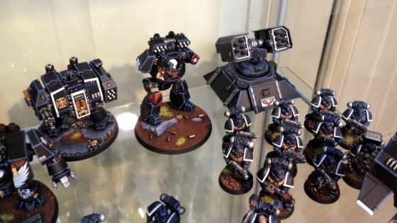 A bit more focus on some of the new additions to the force, some new Dreadnought loadouts, a Contemptor and the Hyperios.