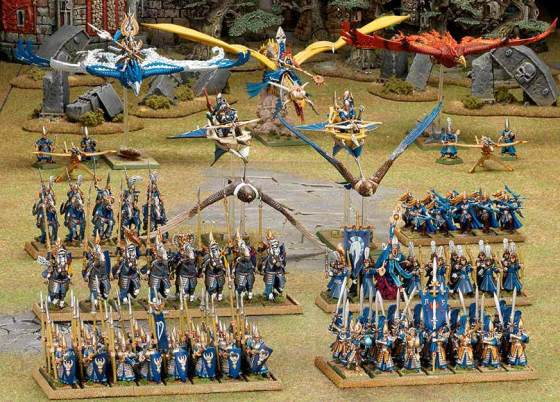 What will the new High Elf armies look like?