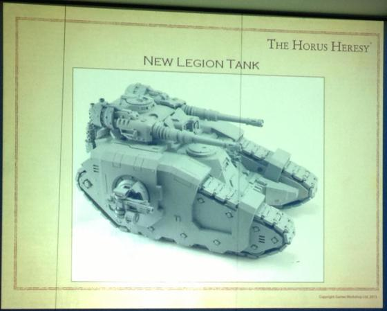 A very intriguing new Astartes vehicle... looks like twin autocannon and triple heavy bolters. Lots of dakka!