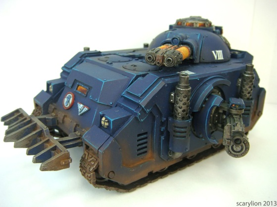 Don't hate me because I'm beautifully painted. From http://isuckat40k.blogspot.ca/