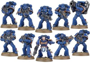 Ultramarines infantry spam could be viable, as one turn of re-rolls with all your Tacticals will hurt.