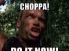 Get to the choppa! – KickstarterUpdates