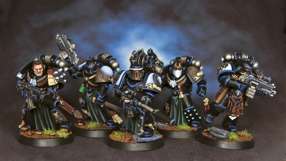 Raven Guard Veterans 1-5