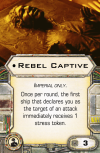 Custom Card Artwork – Rebel Captive