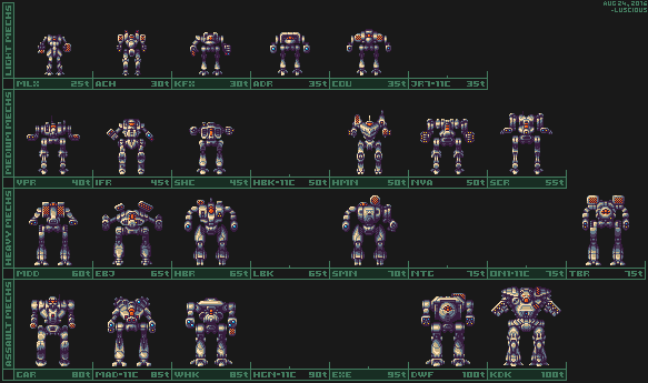 MWO: Forums - Luscious Dan's Pixel Mechs - Page 3